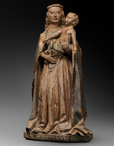 BURGUNDIAN VIRGIN AND CHILD