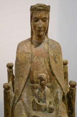 Galerie-Gabrielle-Laroche_107_IMPORTANTE VIERGE EN MAJESTÉ_Vierge Arnay Le Duc